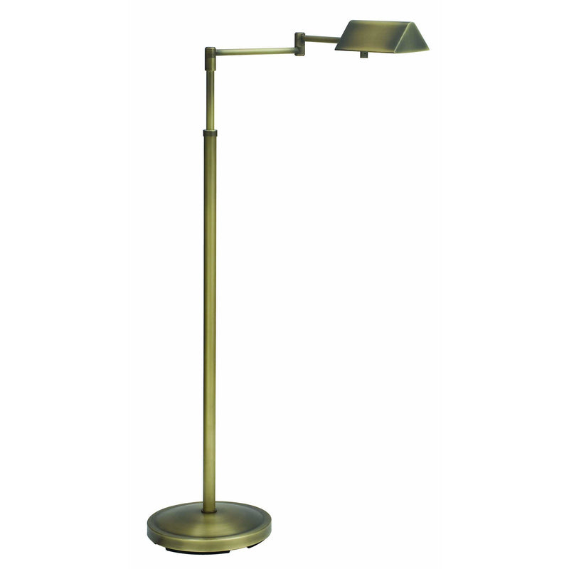 House Of Troy Floor Lamps Pinnacle Adjustable Halogen Floor Lamp by House Of Troy PIN400-AB