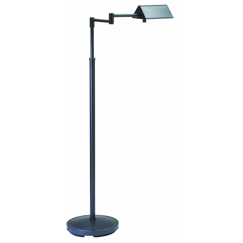 House Of Troy Floor Lamps Pinnacle Adjustable Halogen Floor Lamp by House Of Troy PIN400-OB