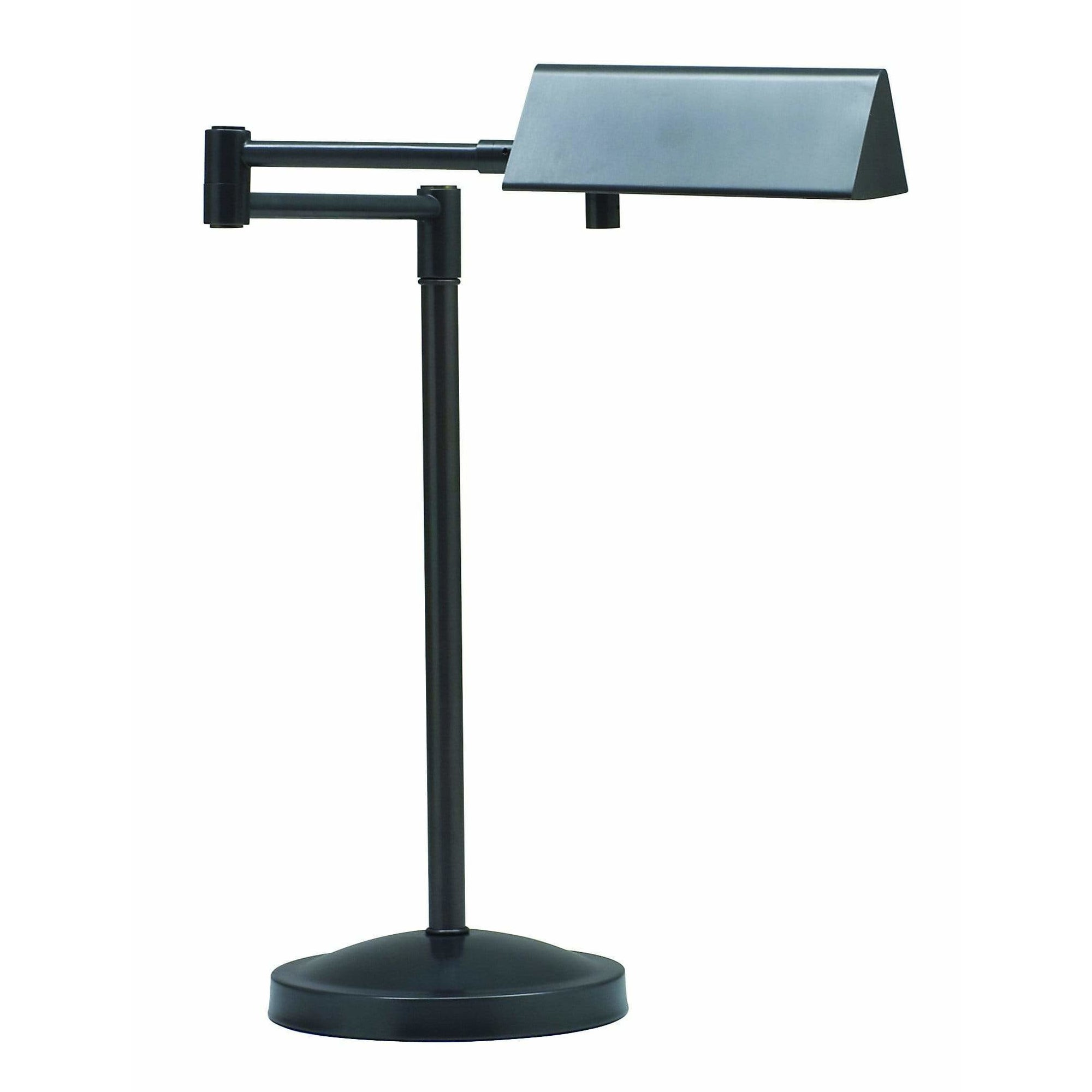 House Of Troy Table Lamps Pinnacle Halogen Swing Arm Desk Lamp by House Of Troy PIN450-OB