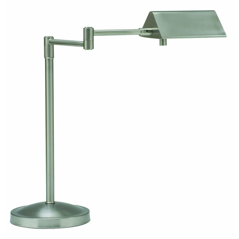 House Of Troy Table Lamps Pinnacle Halogen Swing Arm Desk Lamp by House Of Troy PIN450-SN