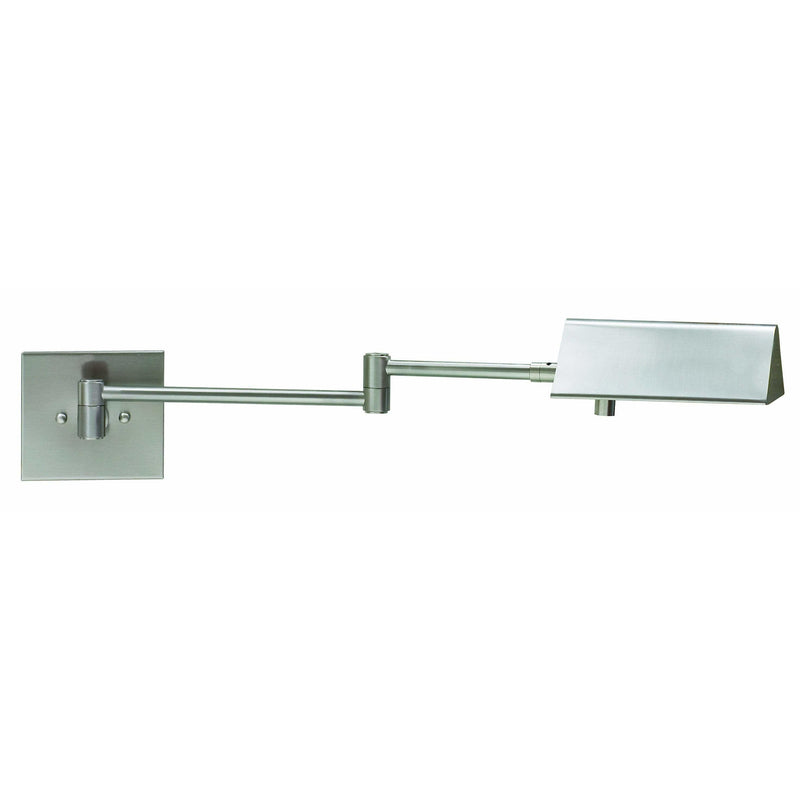 House Of Troy Wall Lamps Pinnacle Halogen Swing Arm Wall Lamp by House Of Troy PIN475-SN