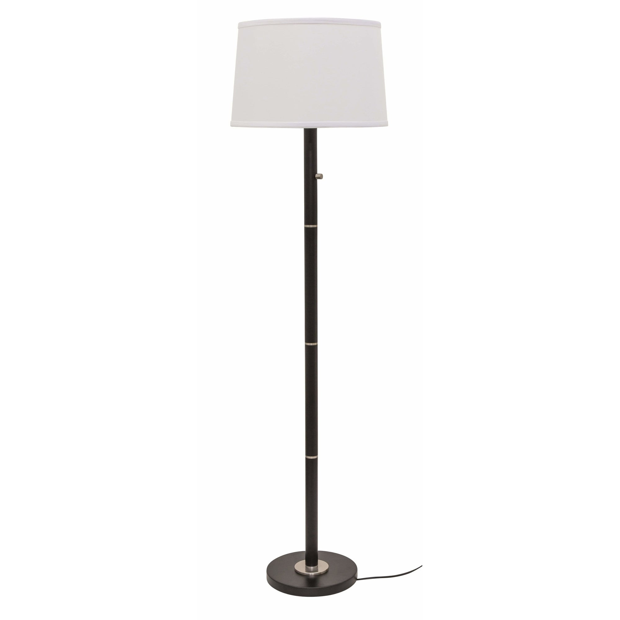 House Of Troy Floor Lamps Rupert Floor Lamp by House Of Troy RU703-BLK