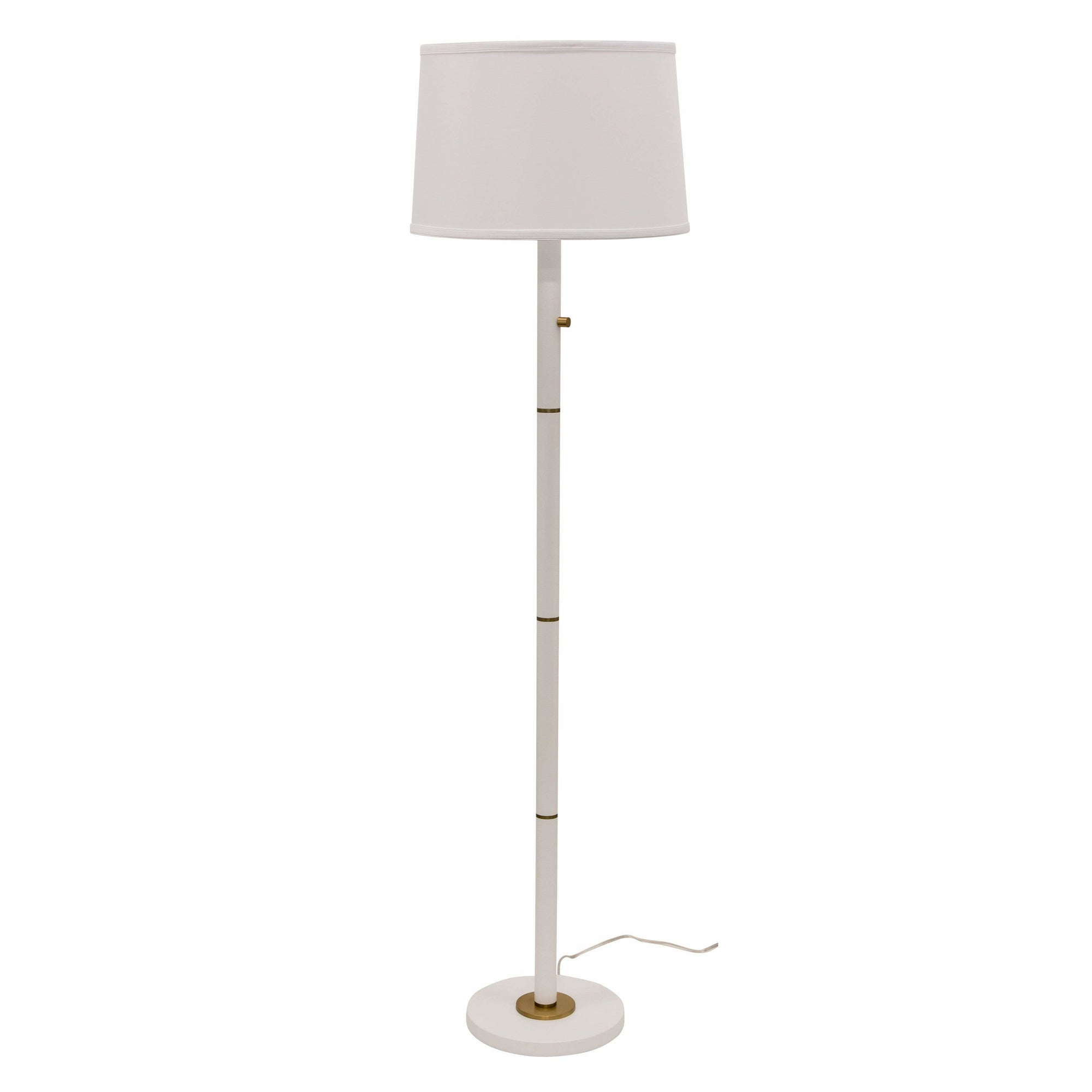 House Of Troy Floor Lamps Rupert Floor Lamp by House Of Troy RU703-WT