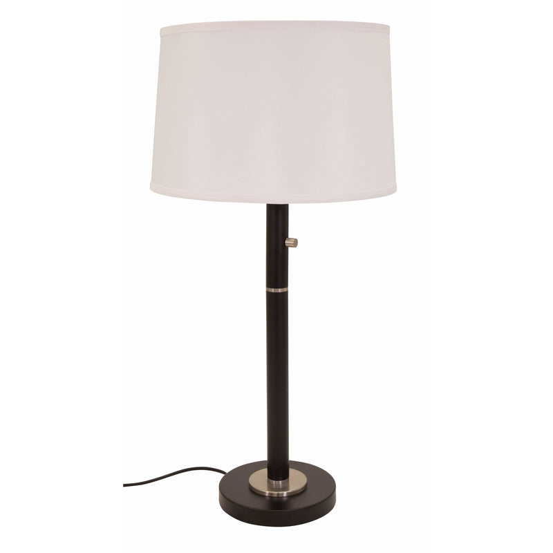 House Of Troy Table Lamps Rupert Table Lamp by House Of Troy RU750-BLK