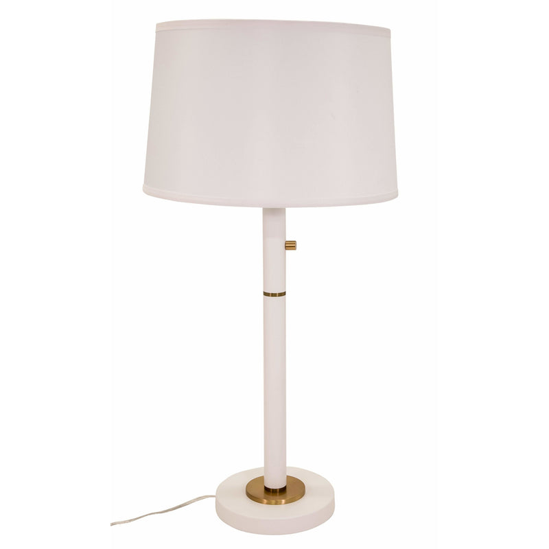 House Of Troy Table Lamps Rupert Table Lamp by House Of Troy RU750-WT
