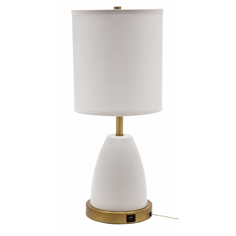 House Of Troy Table Lamps Rupert Table Lamp by House Of Troy RU751-WT