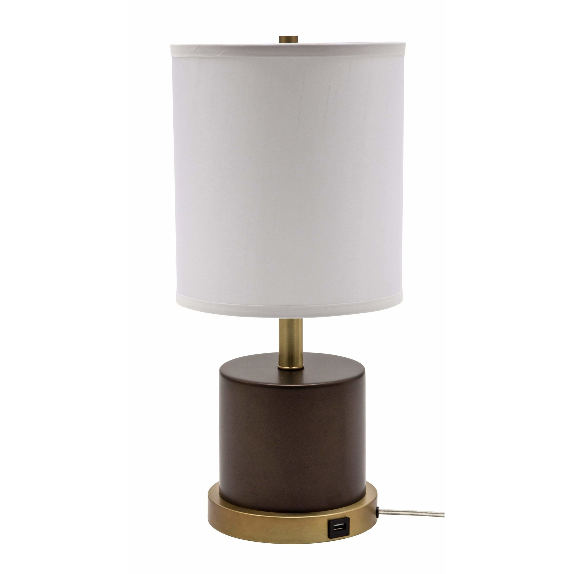 House Of Troy Table Lamps Rupert Table Lamp by House Of Troy RU752-CHB