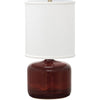 House Of Troy Table Lamps Scatchard Stoneware Table Lamp by House Of Troy GS120-CR