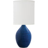 House Of Troy Table Lamps Scatchard Stoneware Table Lamp by House Of Troy GS201-BG