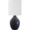 House Of Troy Table Lamps Scatchard Stoneware Table Lamp by House Of Troy GS201-BM
