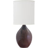 House Of Troy Table Lamps Scatchard Stoneware Table Lamp by House Of Troy GS201-DR