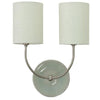 House Of Troy Wall Lamps Scatchard Stoneware Wall Lamp by House Of Troy GS775-2-SNGG