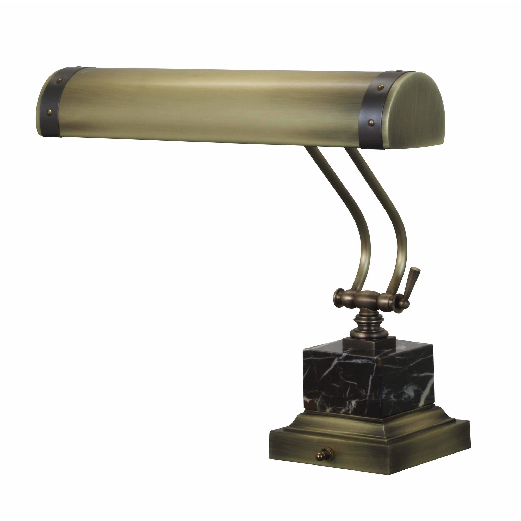 House Of Troy Desk Lamps Steamer Piano/Desk Lamp by House Of Troy P14-290-ABMB
