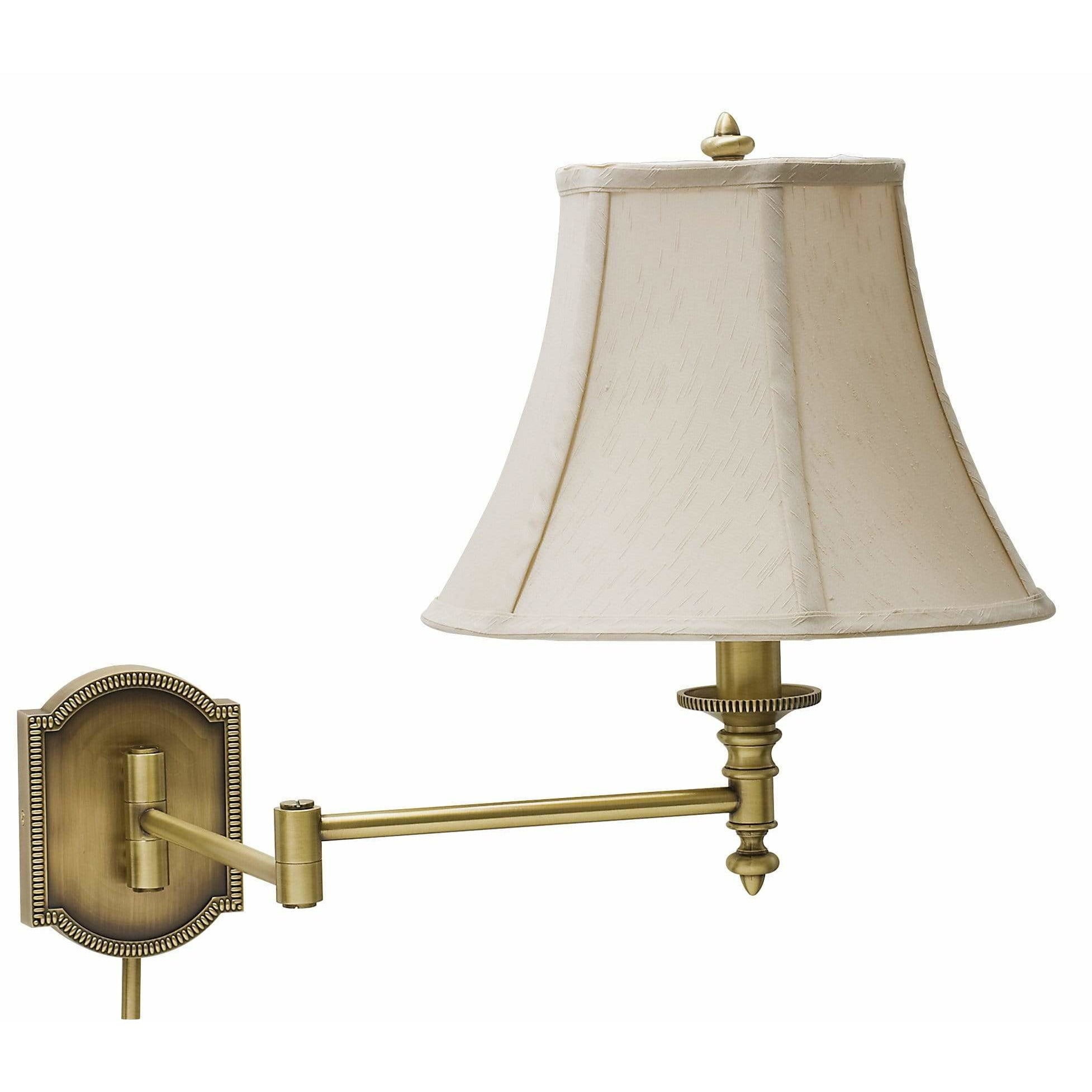 House Of Troy Wall Lamps Swing Arm Wall Lamp by House Of Troy WS761-AB