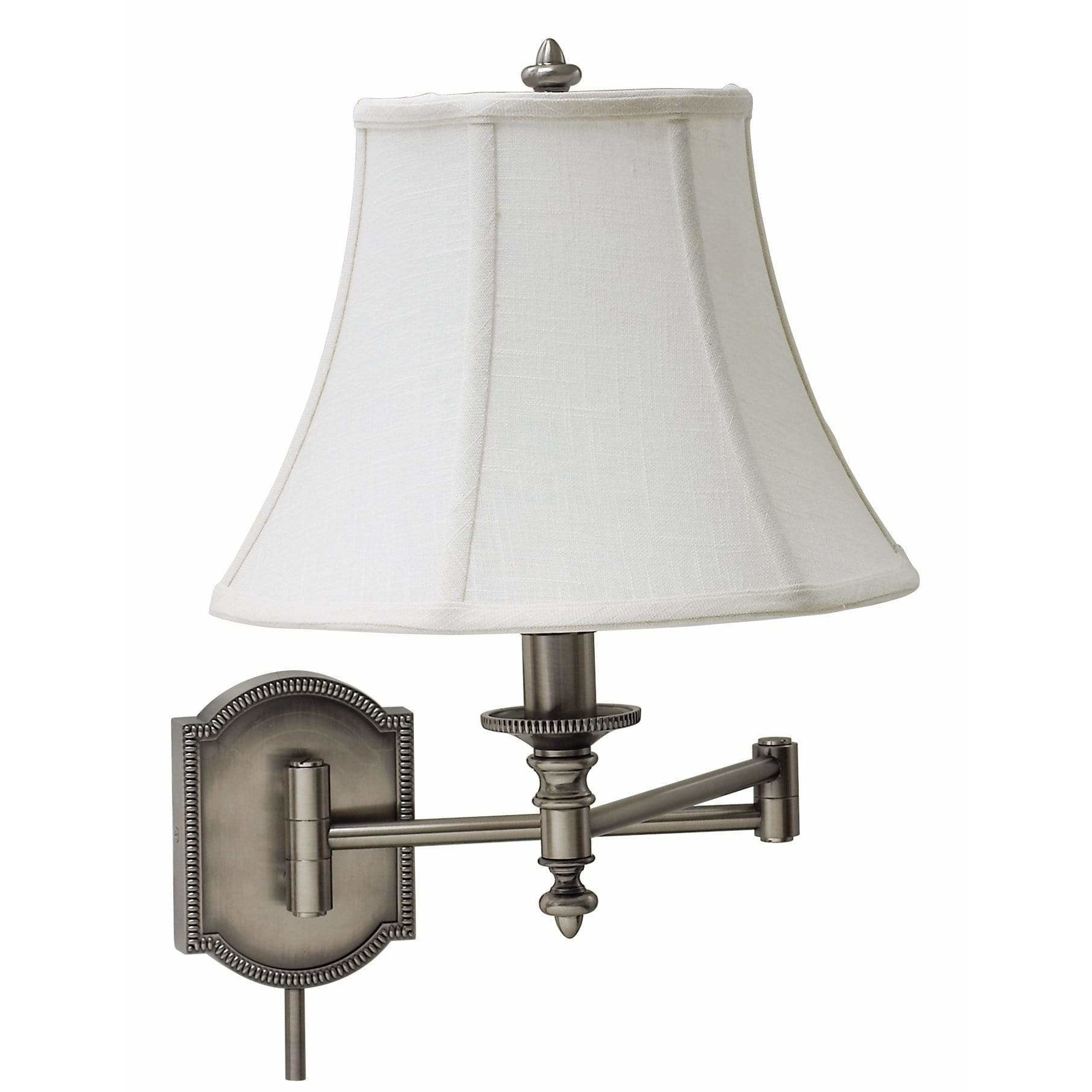 House Of Troy Wall Lamps Swing Arm Wall Lamp by House Of Troy WS761-AS