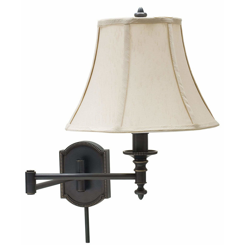 House Of Troy Wall Lamps Swing Arm Wall Lamp by House Of Troy WS761-OB