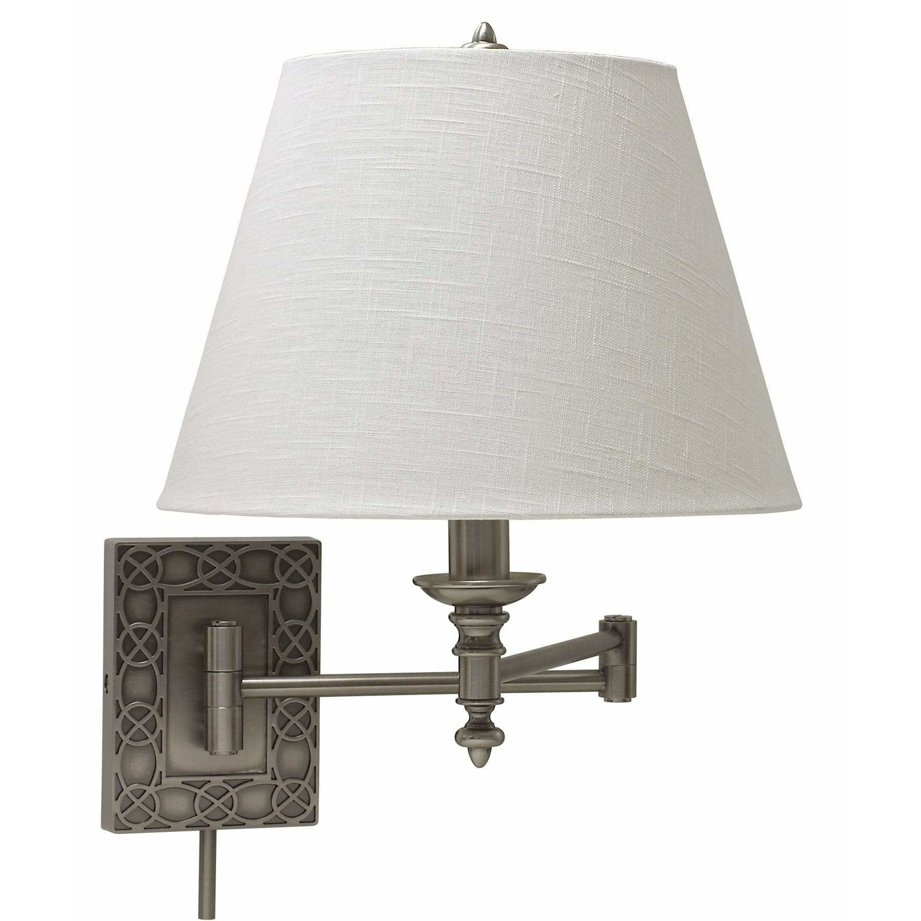 House Of Troy Wall Lamps Swing Arm Wall Lamp by House Of Troy WS763-AS