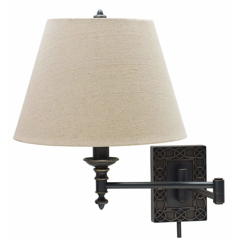 House Of Troy Wall Lamps Swing Arm Wall Lamp by House Of Troy WS763-OB
