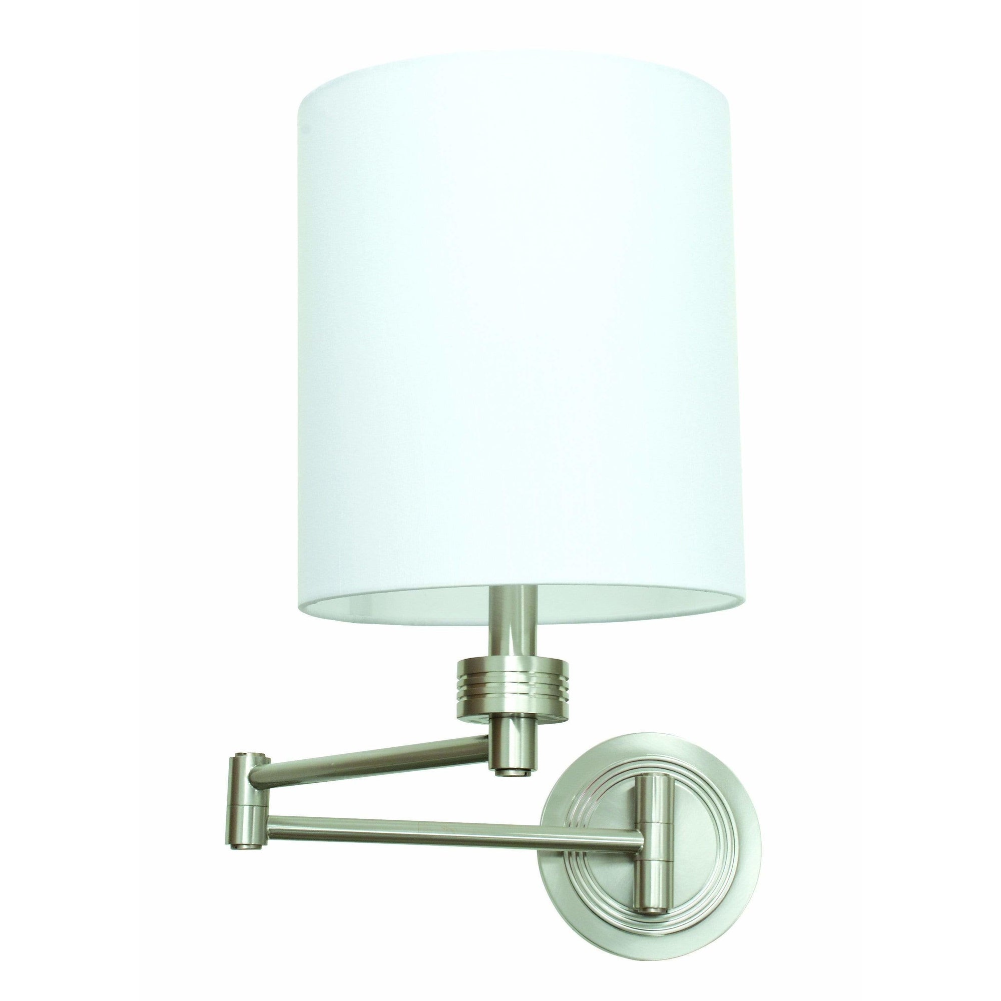 House Of Troy Wall Lamps Swing Arm Wall Lamp by House Of Troy WS775-SN