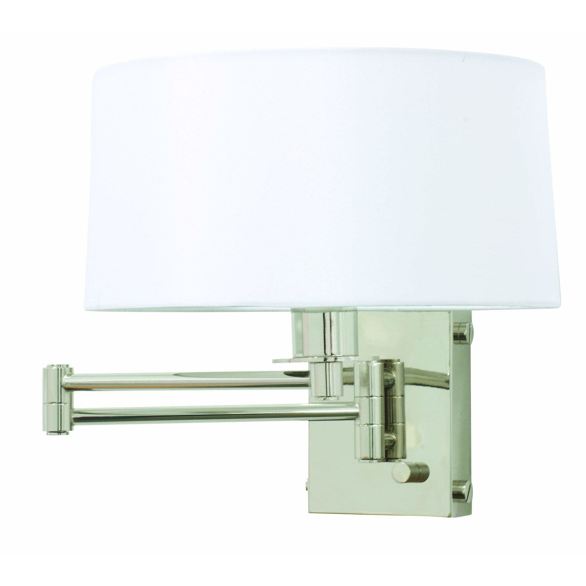 House Of Troy Wall Lamps Swing Arm Wall Lamp by House Of Troy WS776-PN