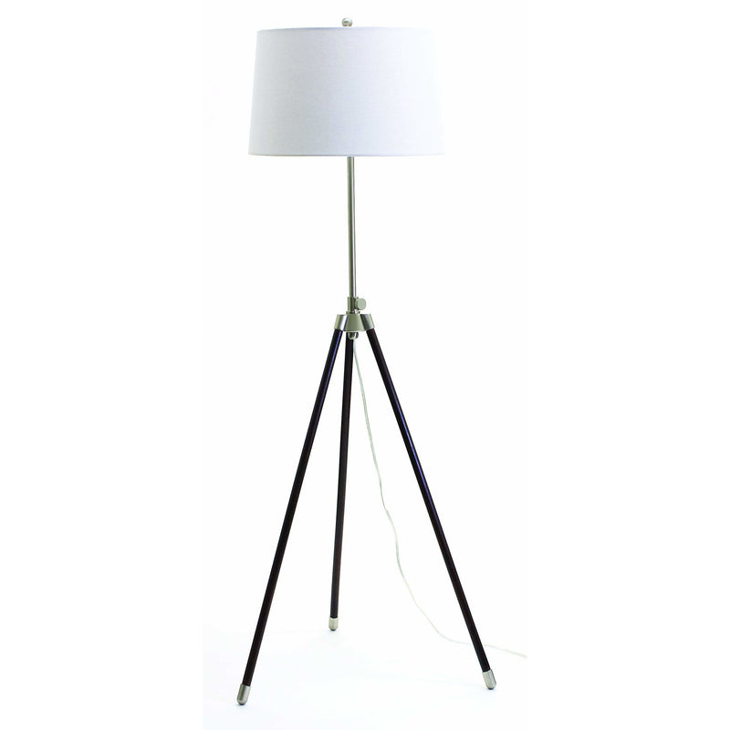 House Of Troy Floor Lamps Tripod Adjustable Floor Lamp by House Of Troy TR201-SN