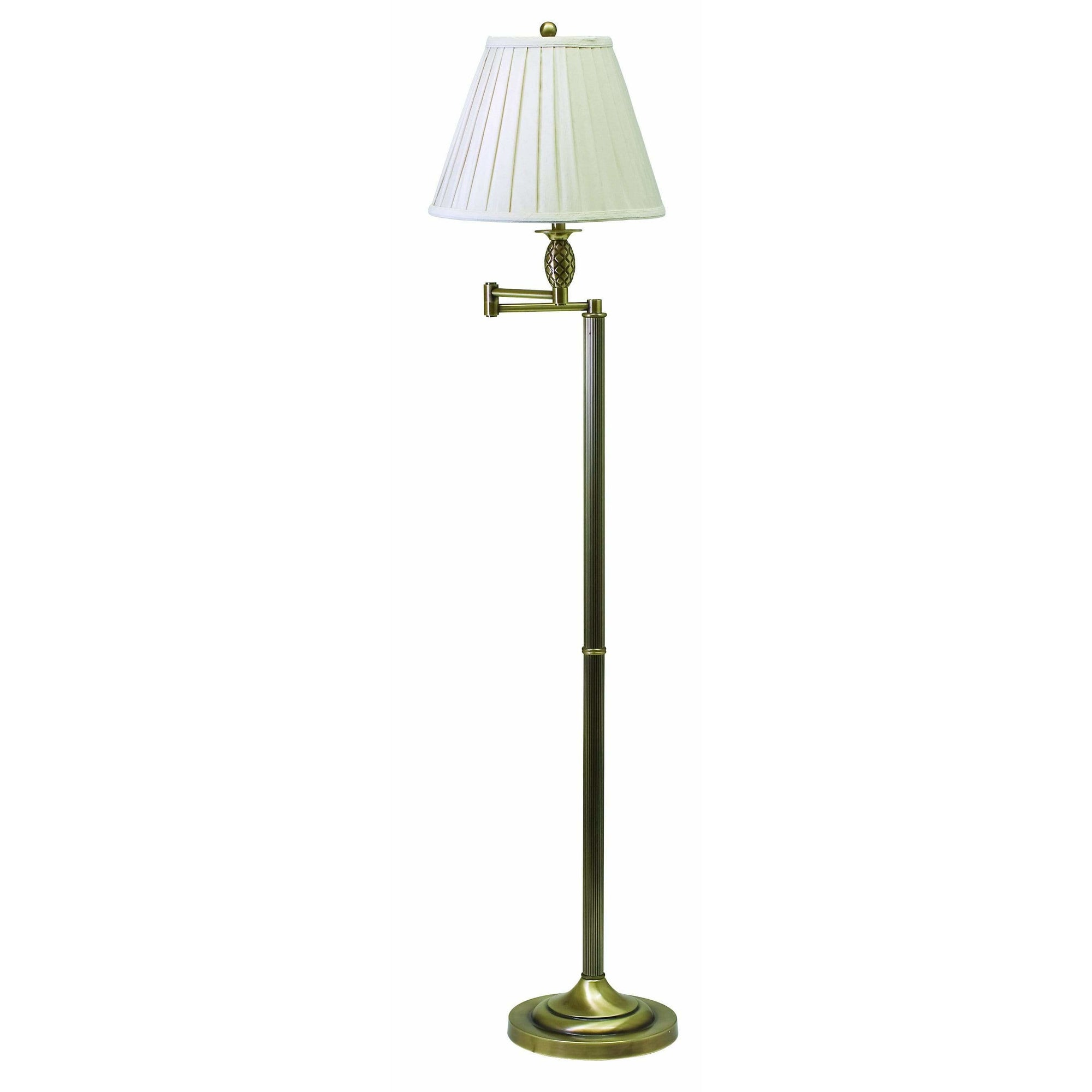 House Of Troy Floor Lamps Vergennes Floor Lamp by House Of Troy VG400-AB