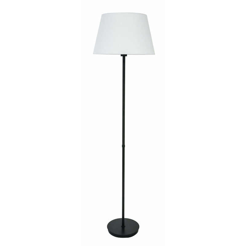 House Of Troy Floor Lamps Vernon Floor Lamp by House Of Troy VER500-BLK