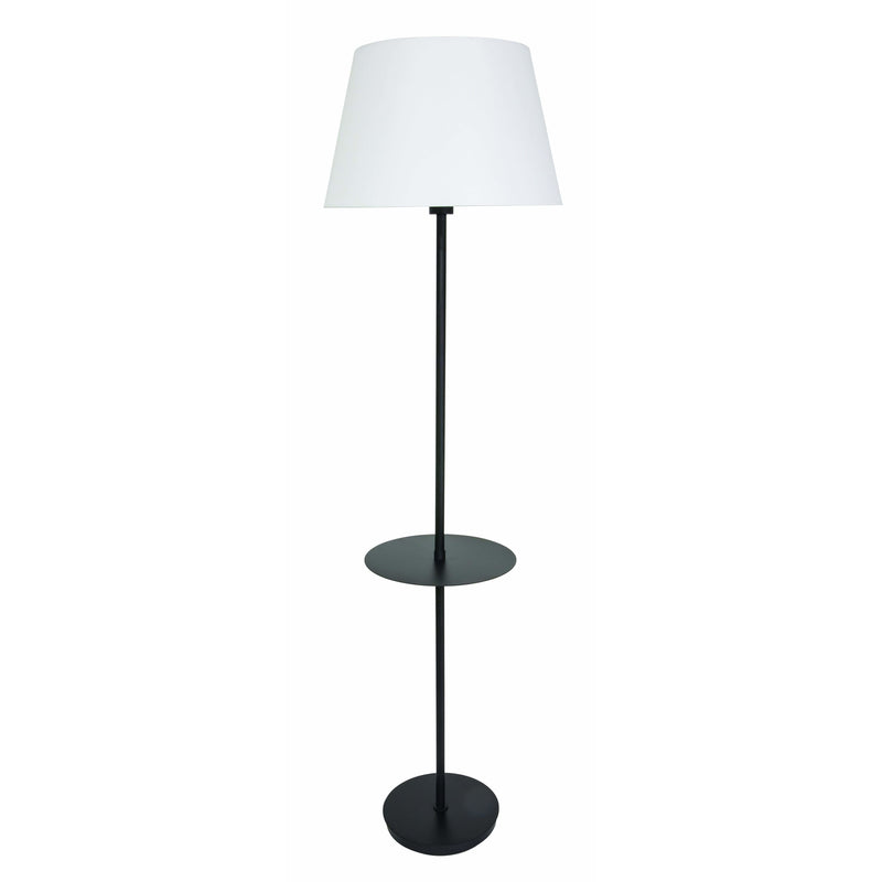 House Of Troy Floor Lamps Vernon Floor Lamp by House Of Troy VER502-BLK