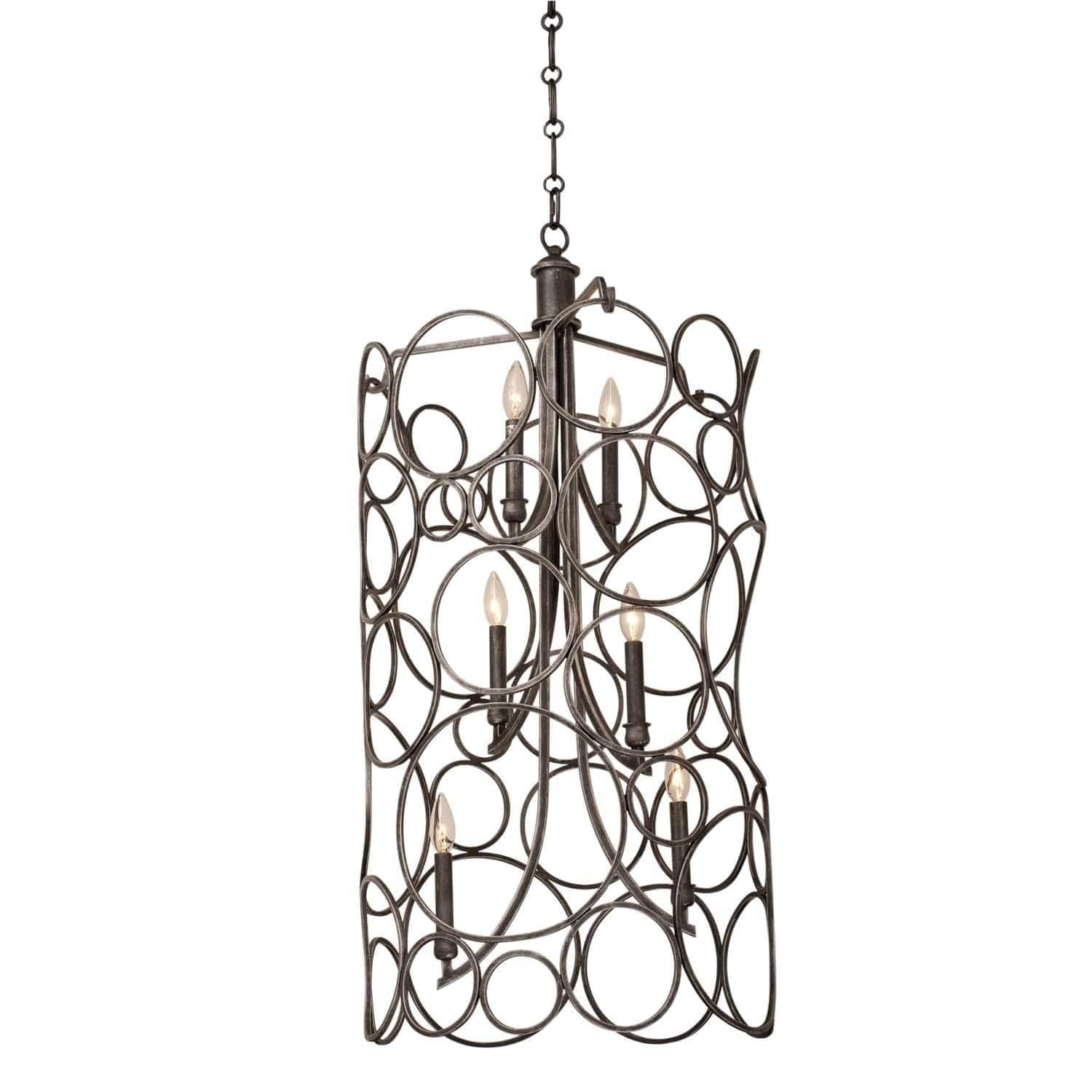 Kalco Lighting Pendants Heirloom Bronze Ashbourne Large Foyer By Kalco Lighting 2760