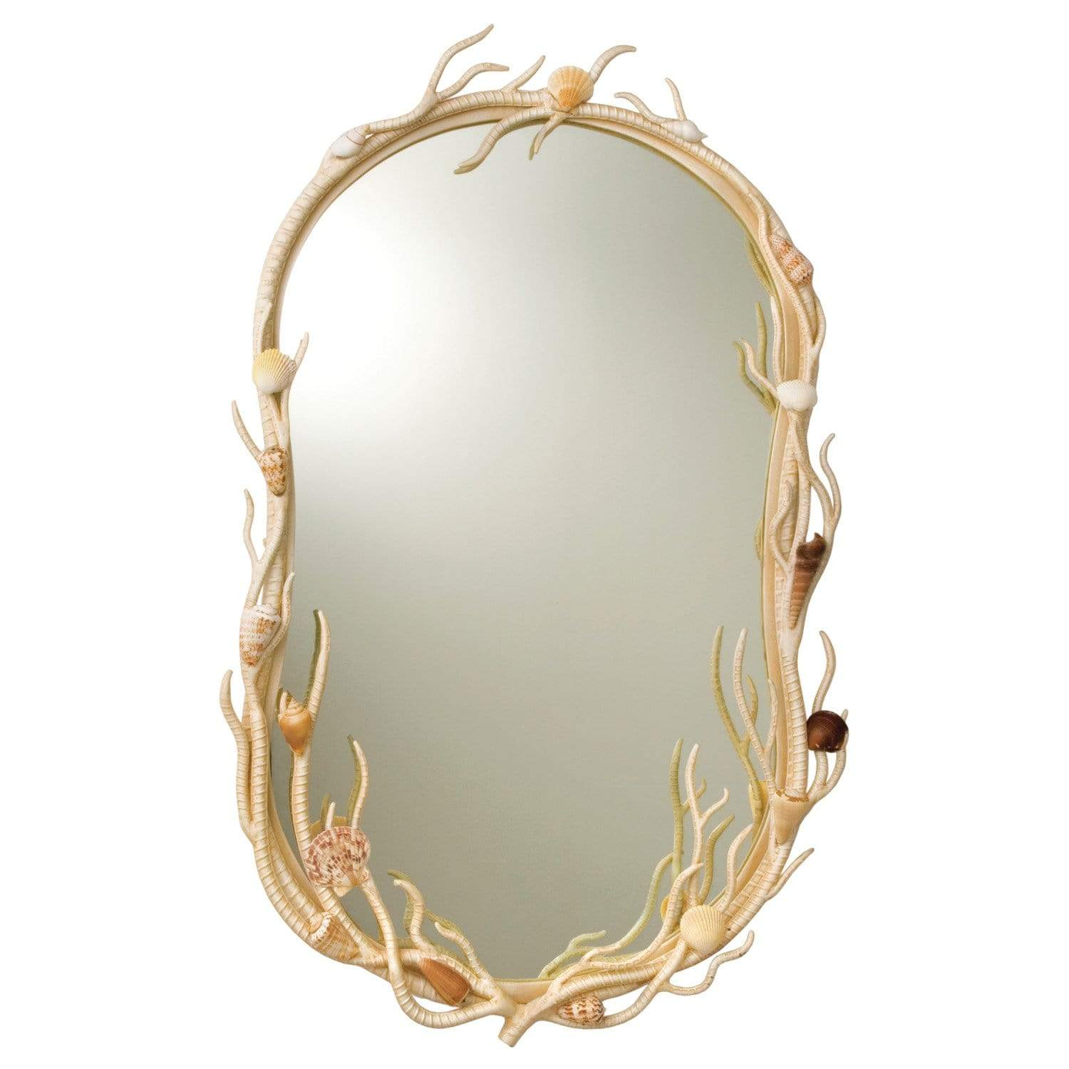 Kalco Lighting Mirrors Coral Atlantis Oval Mirror By Kalco Lighting 6070
