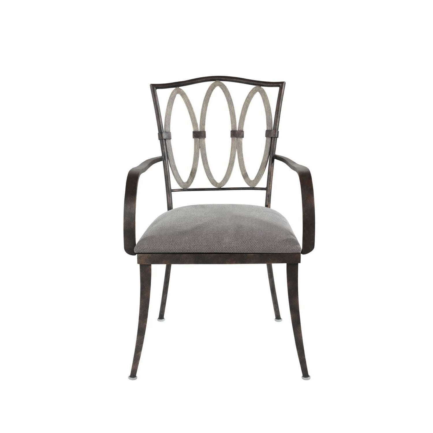 Kalco Lighting Chairs Florence Gold Belmont Dining Arm Chair By Kalco Lighting 800402