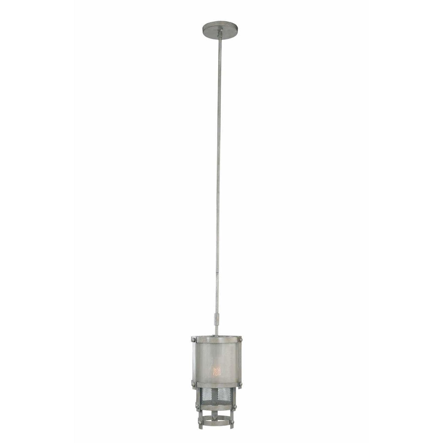 Kalco Lighting Pendants Bronze Jewel Tone Delano 1 Light Mini Pendant By Kalco Lighting 503650