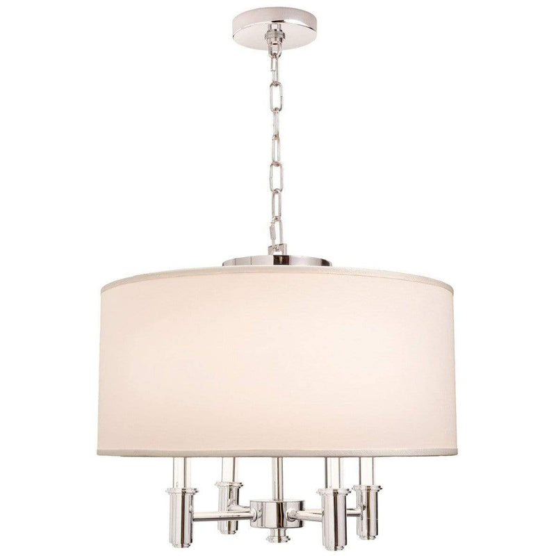 Kalco Lighting Pendants Chrome Dupont 4 Light Round Convertible Pendant - Semi Flush Mount By Kalco Lighting 500571