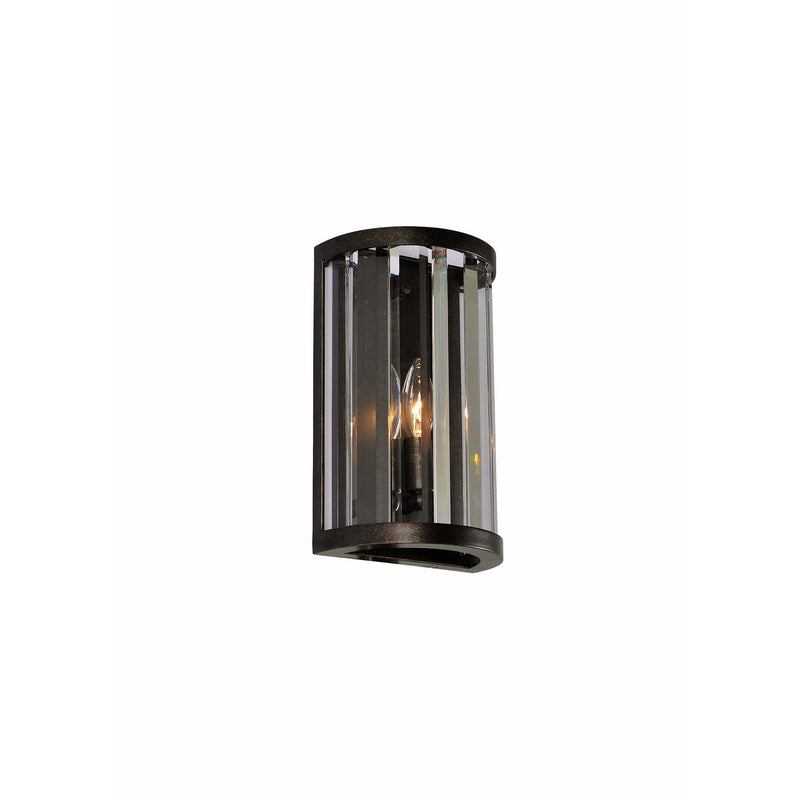 Kalco Lighting Wall Sconces Sienna Bronze Essex 1 Light Ada Wall Sconce By Kalco Lighting 314220