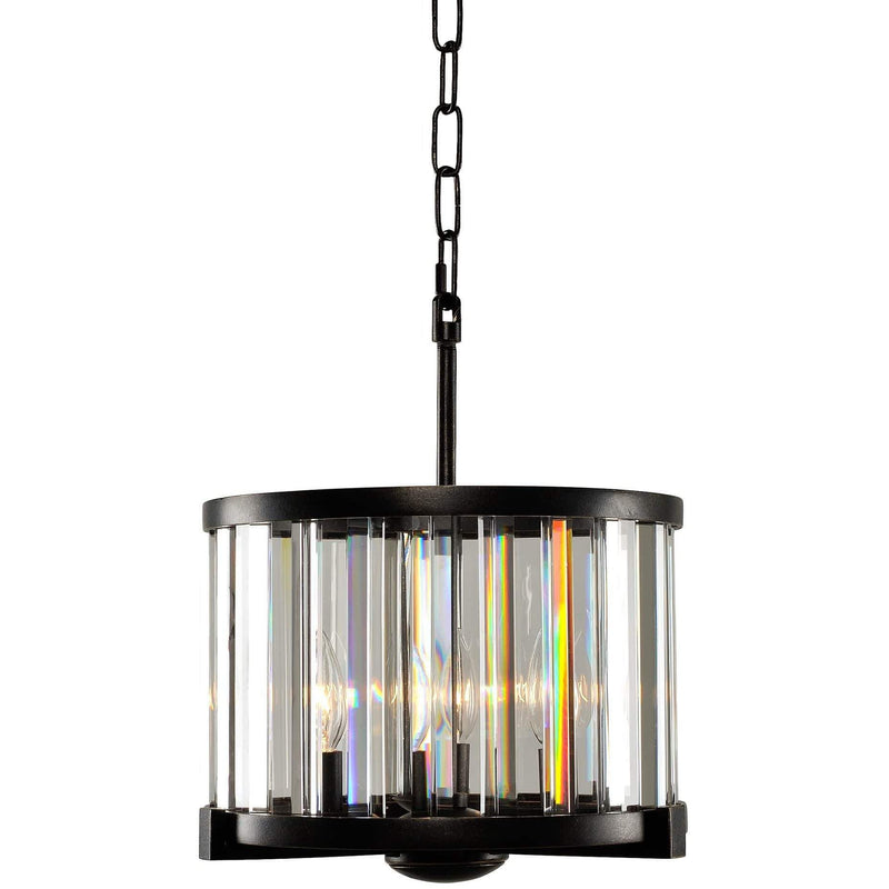 Kalco Lighting Pendants Sienna Bronze Essex 12.5 Inch Convertible Pendant - Semi Flush Mount By Kalco Lighting 314251
