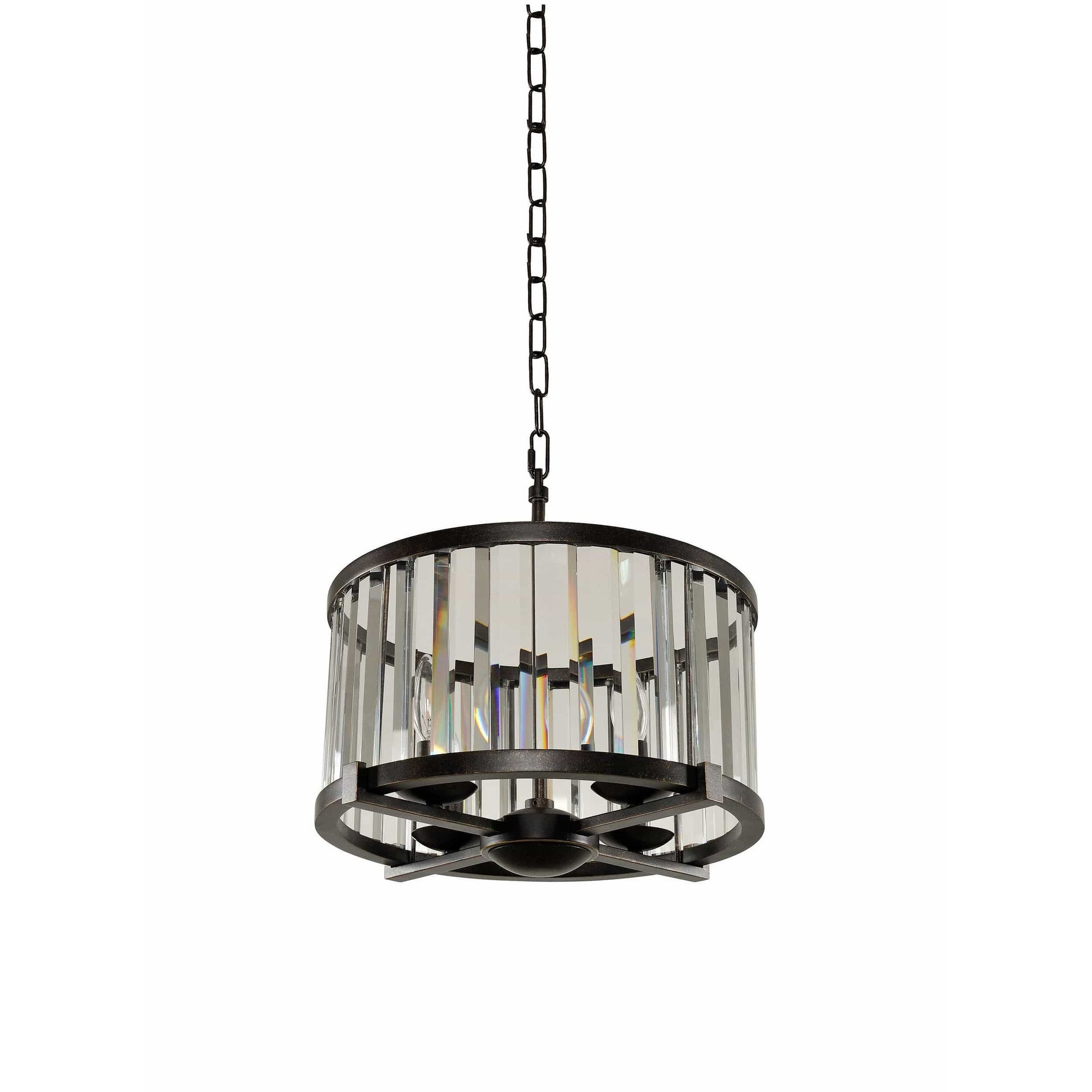 Kalco Lighting Pendants Sienna Bronze Essex 16 Inch Convertible Pendant - Semi Flush Mount By Kalco Lighting 314252