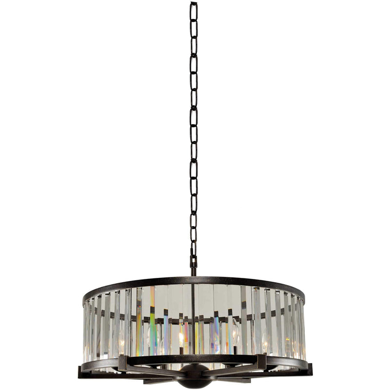 Kalco Lighting Pendants Sienna Bronze Essex 26 Inch Pendant By Kalco Lighting 314253