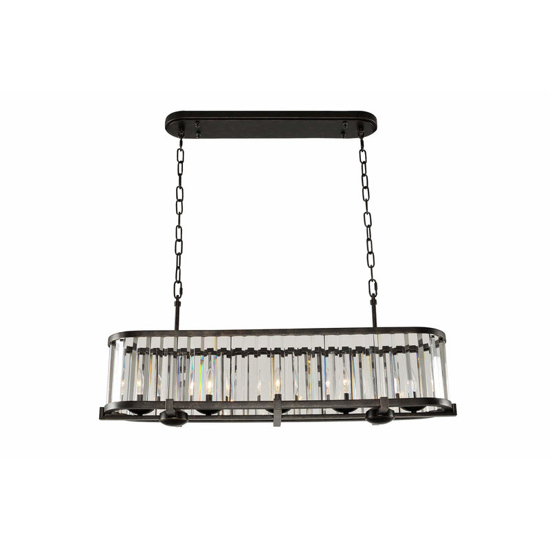 Kalco Lighting Island Lighting Sienna Bronze Essex 37 Inch Island By Kalco Lighting 314254
