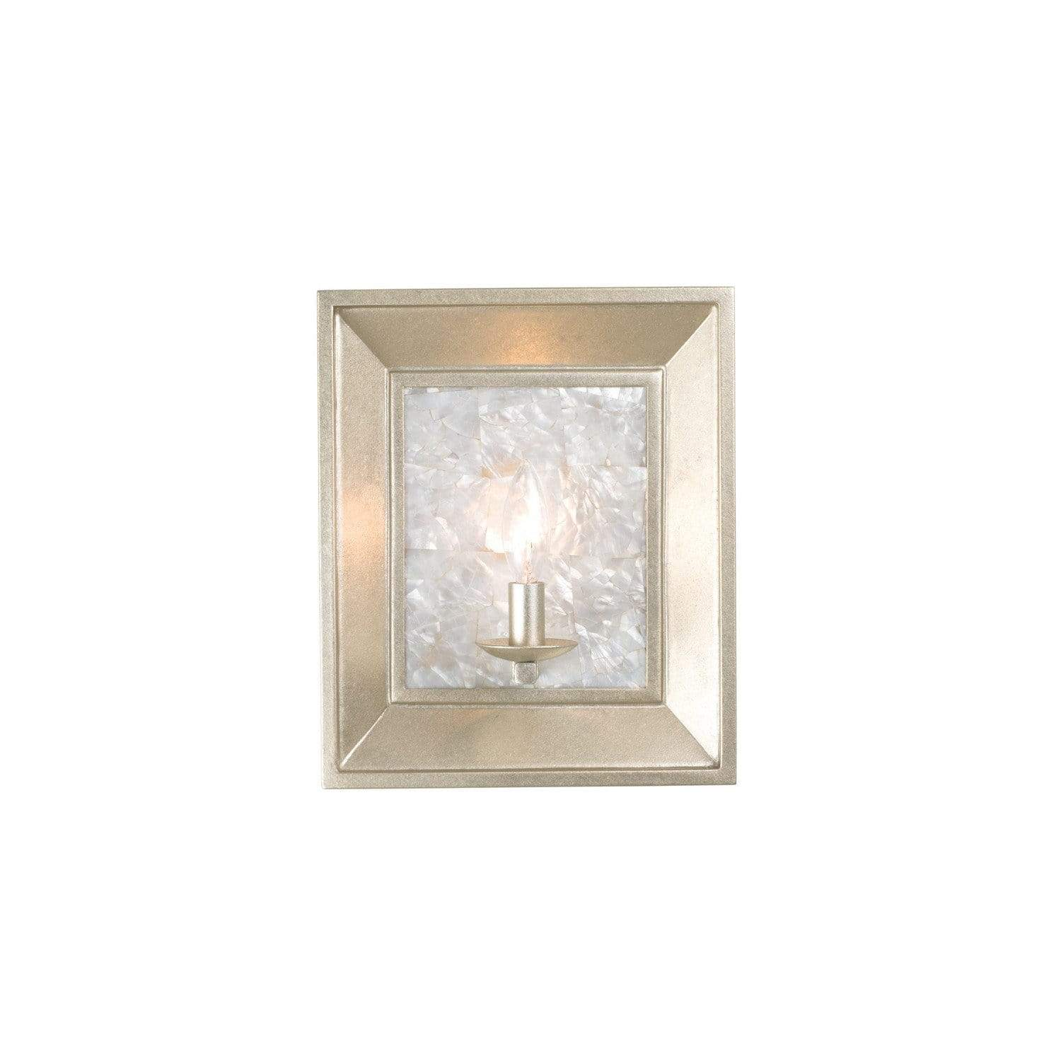 Kalco Lighting Wall Sconces Warm Silver Hayworth 1 Light Ada Wall Sconce By Kalco Lighting 505720