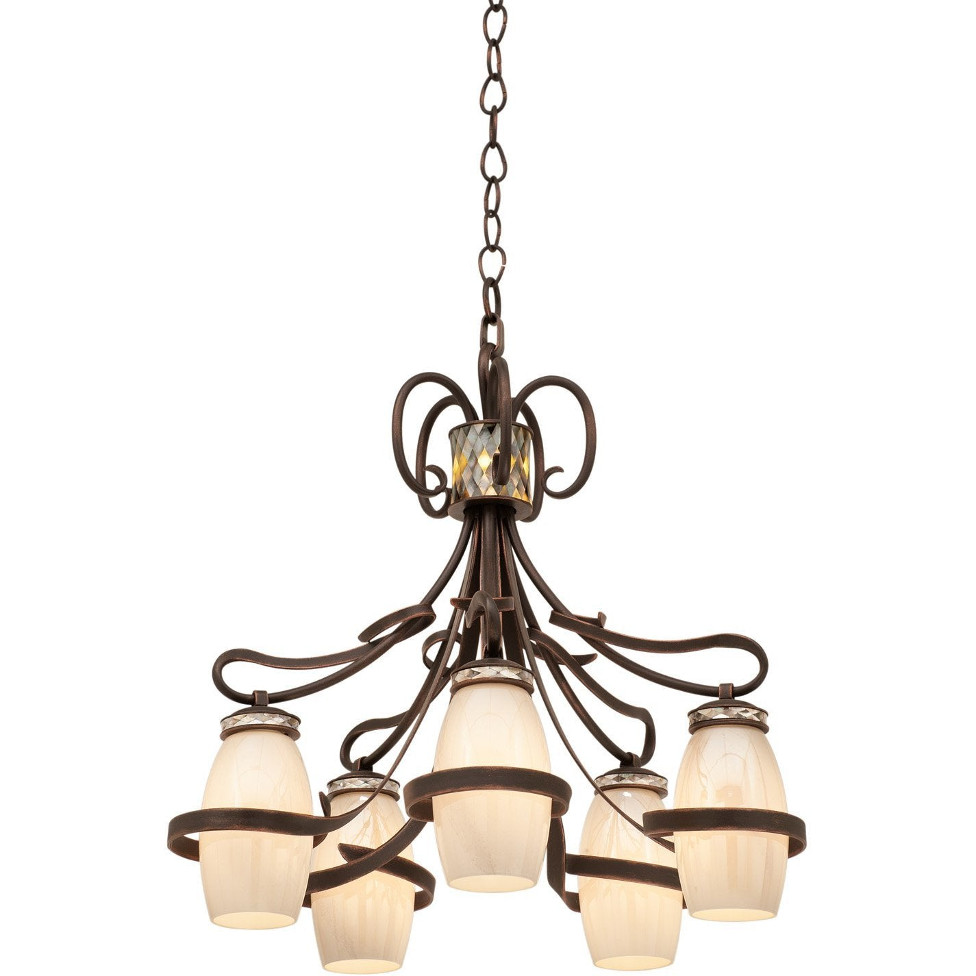Kalco Lighting Chandeliers Monaco 5 Light Chandelier By Kalco Lighting 6022