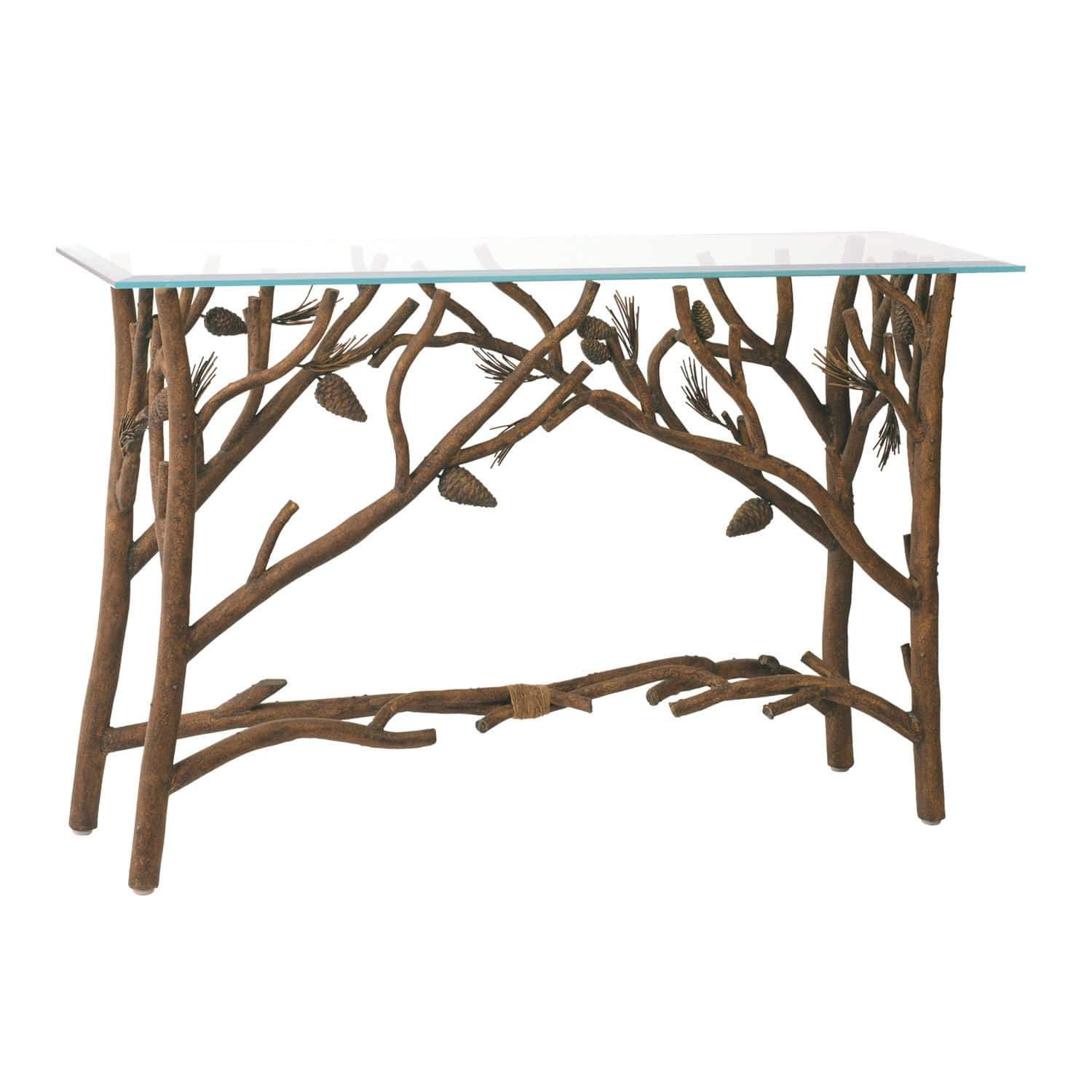 Kalco Lighting Console Tables Ponderosa Ponderosa Console Table By Kalco Lighting 871