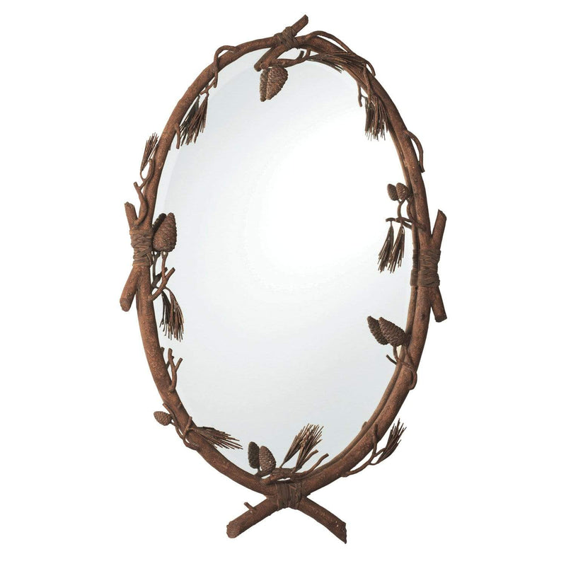 Kalco Lighting Mirrors Ponderosa Ponderosa Wall Mirror By Kalco Lighting 870