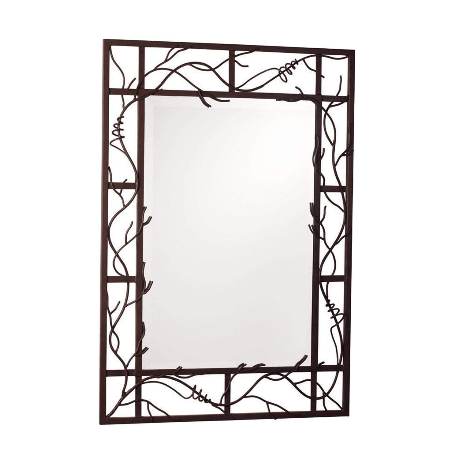Kalco Lighting Mirrors Bark Vine Wall Mirror By Kalco Lighting 830