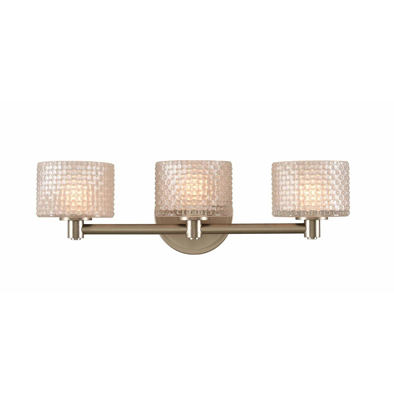 Kalco Lighting Wall Sconces Chrome Willow 3 Light Bath By Kalco Lighting 315533