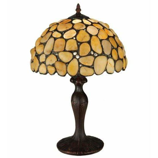 Meyda Lighting Table Lamps, Default Agata Yellow Table Lamps By Meyda Lighting 138123