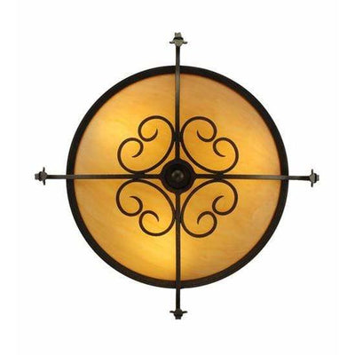 Meyda Lighting Ceiling Fixture, Semi Flushes Default Alaine Ceiling Fixture By Meyda Lighting 221627