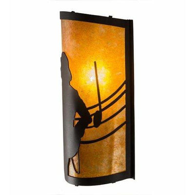Meyda Lighting Wall Sconces, One Light Default Amarillo Wall Sconces By Meyda Lighting 180324