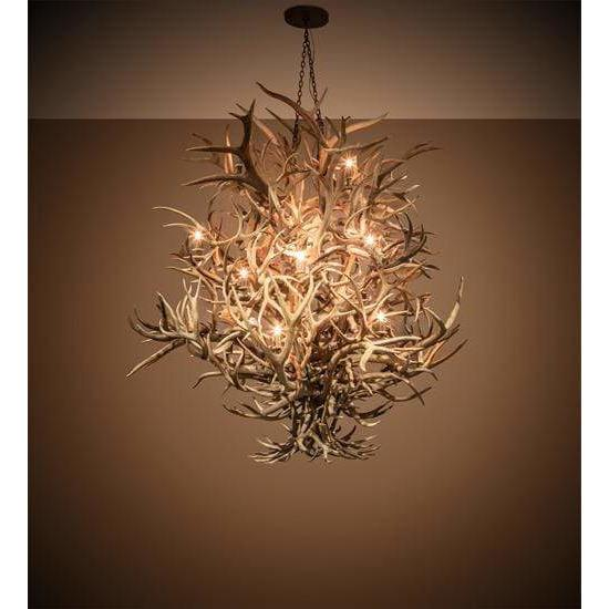 Meyda Lighting Ceiling Fixture, Chandeliers Default Antlers Ceiling Fixture By Meyda Lighting 212261