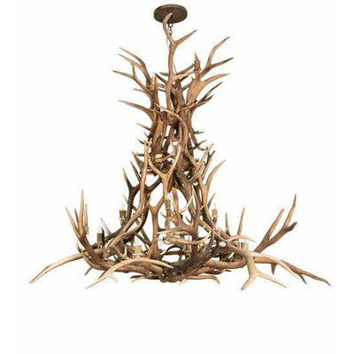 Meyda Lighting Ceiling Fixture, Chandeliers Default Antlers Elk Ceiling Fixture By Meyda Lighting 212277