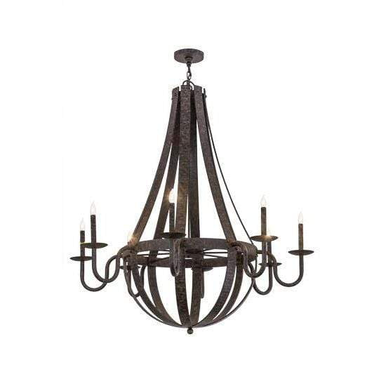 Meyda Lighting Chandeliers Default Barrel Stave Metallo Ceiling Fixture By Meyda Lighting 172321